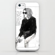 I was tired of pretending that I was someone else just to get along with people Slim Case iPhone 5c