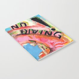No Diving! Notebook