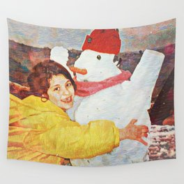 Joy Is Helping Someone Find Their Smile Wall Tapestry
