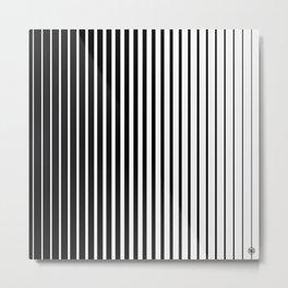 LinesIII/ Metal Print