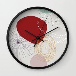 modern abstract VI Wall Clock