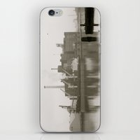 baltimore iPhone & iPod Skins featuring baltimore harbor by Art by Ash