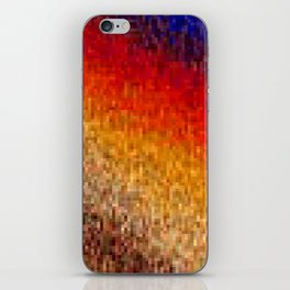 the square field of me iPhone Skin