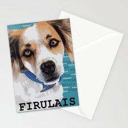 My dog Firulais Stationery Cards