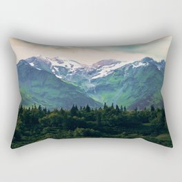 Escaping from woodland heights I Rectangular Pillow
