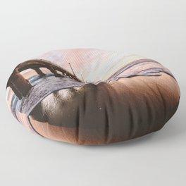 MANHATTAN BEACH PIER Floor Pillow