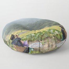 Sa Pa Landscapes I - Vietnam Floor Pillow