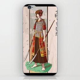Samurai Girl iPhone Skin