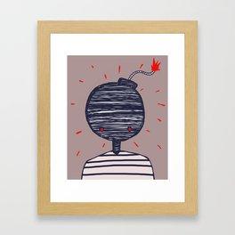 BomberMan Framed Art Print
