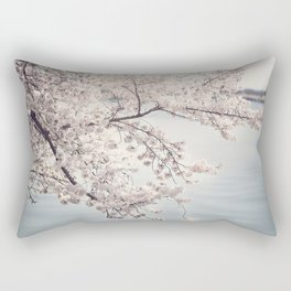 Cherry Blossoms of DC Edition 1 Photography Print Rectangular Pillow