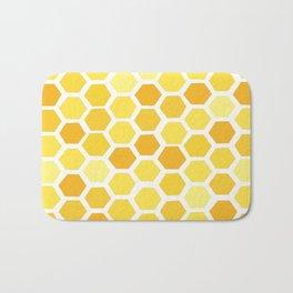 Beehive Pattern by Friztin Bath Mat