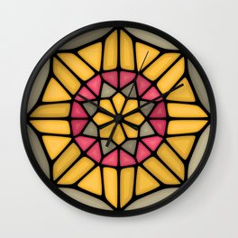 Gold medal Voronoi Wall Clock