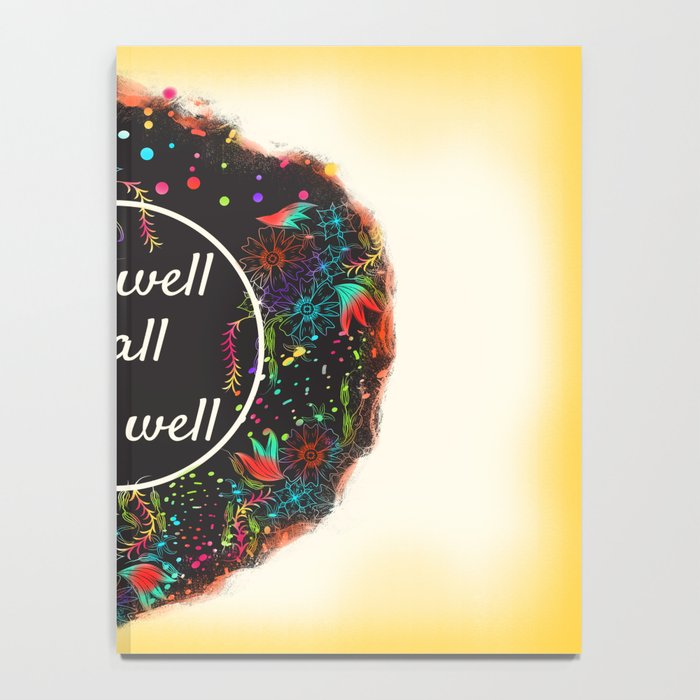 Shakespeare Alls Well if All Ends Well Notebook