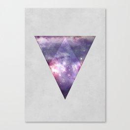 Space Tri Canvas Print
