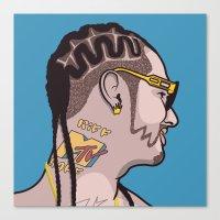 riff raff Canvas Prints featuring Riff Raff by Michael Walchalk