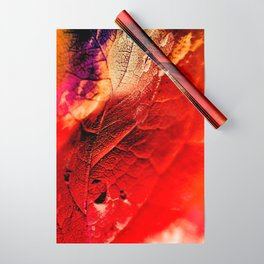 Autumn Abstract Wrapping Paper