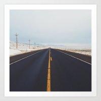 Endless Road Art Print