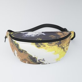 Yellow Cascade Fanny Pack