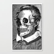 Mr Bones II Canvas Print