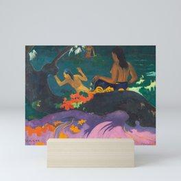 By the Sea by Paul Gauguin Mini Art Print