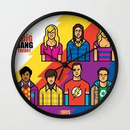 TheBigBangTheory Wall Clock