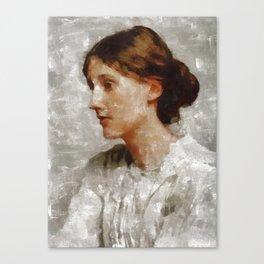 Virginia Woolf, Author Canvas Print