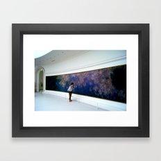 Jess Framed Art Print