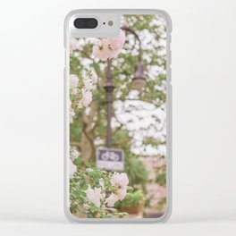 Roses Bloom in the Village Clear iPhone Case