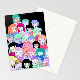Crowd #2  Stationery Cards