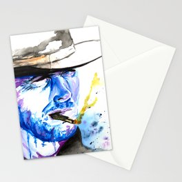 Get Three Coffins Ready Stationery Cards