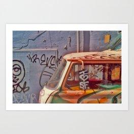 I heart SF Van Art Print