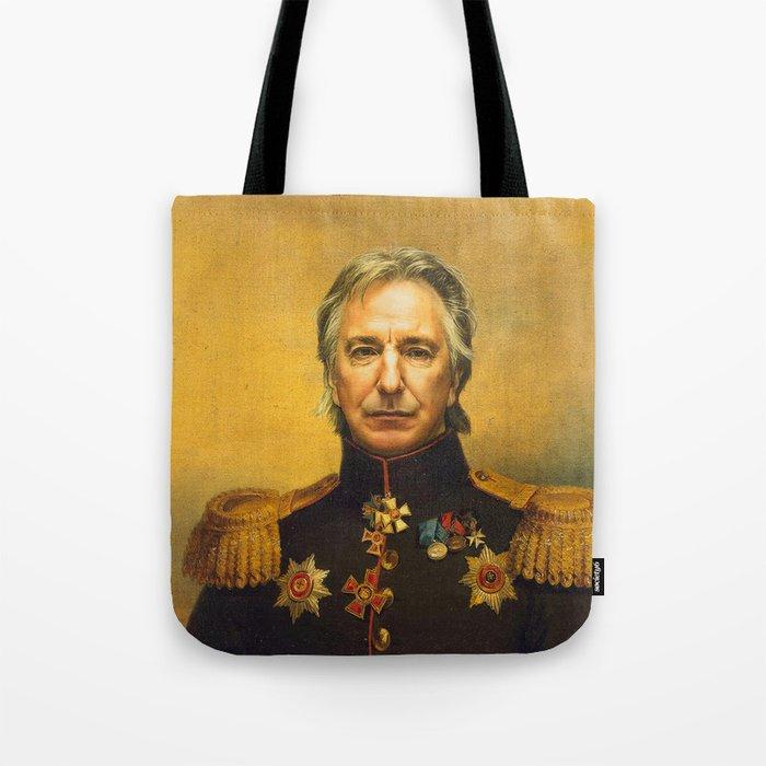 Alan Rickman - replaceface Tote Bag