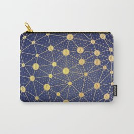 Cryptocurrency mining network Carry-All Pouch