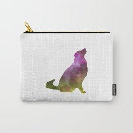 Karst Shepherd Dog in watercolor Carry-All Pouch