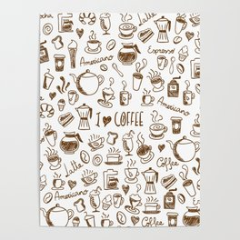 Coffee is my fuel! Poster