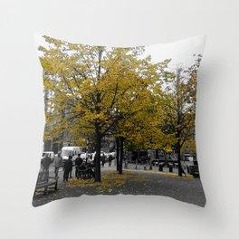 October morning @Grassmarket Throw Pillow
