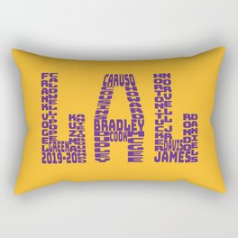 Los Angeles - LAL - 2019 - 2020 Rectangular Pillow