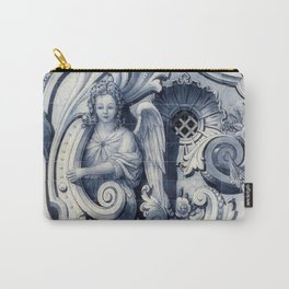 Azulejo Angel Portuguese Carry-All Pouch