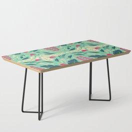Vintage Floral Pattern 004 Coffee Table
