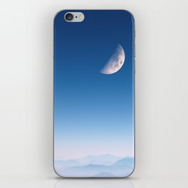 Blue Mountains iPhone Skin
