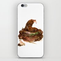 poop iPhone & iPod Skins featuring poop by JuliaKrase