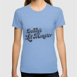 Suicide Squad Daddy's Lil Little Monster Quinn Halloween Fancy Squad t-shirts T-shirt