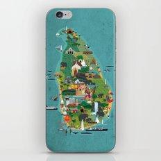 Sri Lanka iPhone Skin