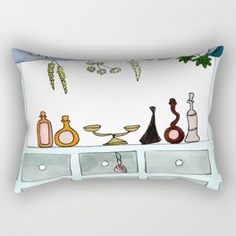 Apothecary 2 Rectangular Pillow