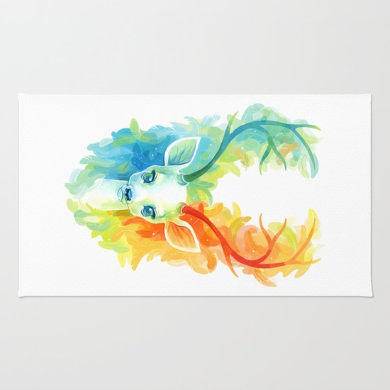 Feather Fawn Rug