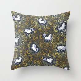 Unicorn pattern Throw Pillow