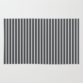Dark Shadow Stripes Rug