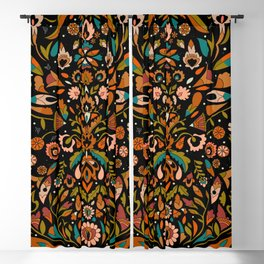 Botanical Print Blackout Curtain