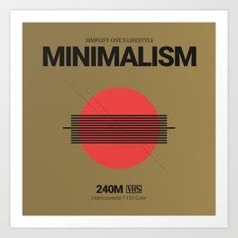 MINIMALISM #1 Art Print