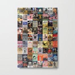 Springsteen Concert Posters Metal Print